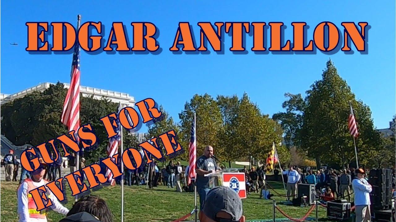 2A Rally Washington DC Edgar Antillon from Guns For Everyone