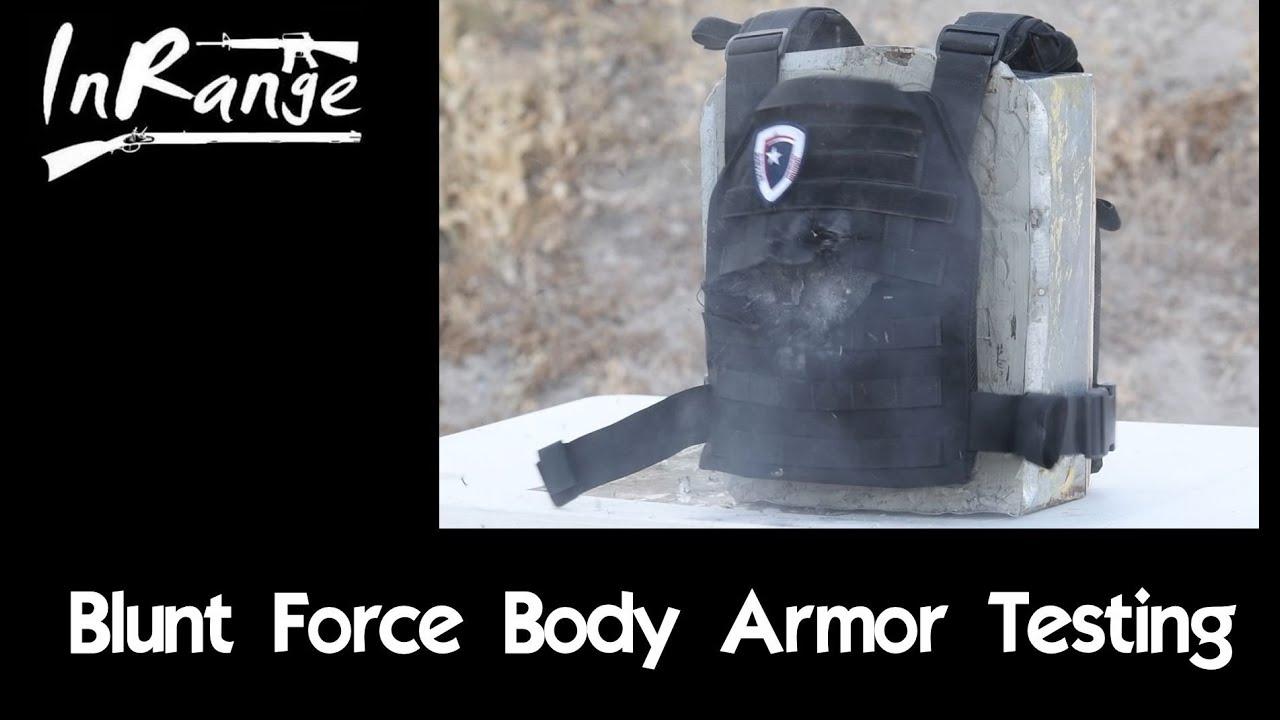 Armor Testing: Blunt Force Trauma
