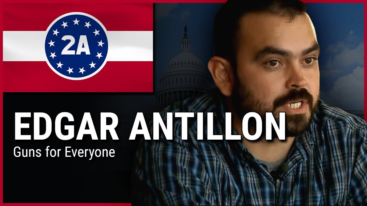 Edgar Antillon ( Guns for Everyone ) - 2A Rally For Your Rights