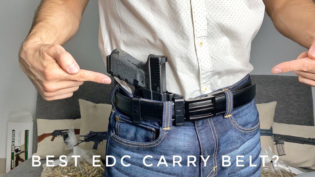 Best EDC Carry Belt? Kore Essentials (X1 Buckle)