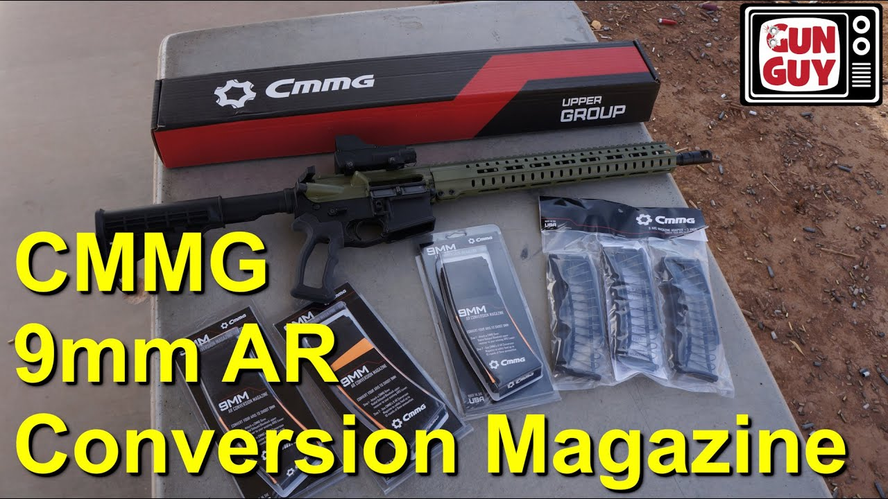 CMMG 9mm AR Conversion Magazine Review