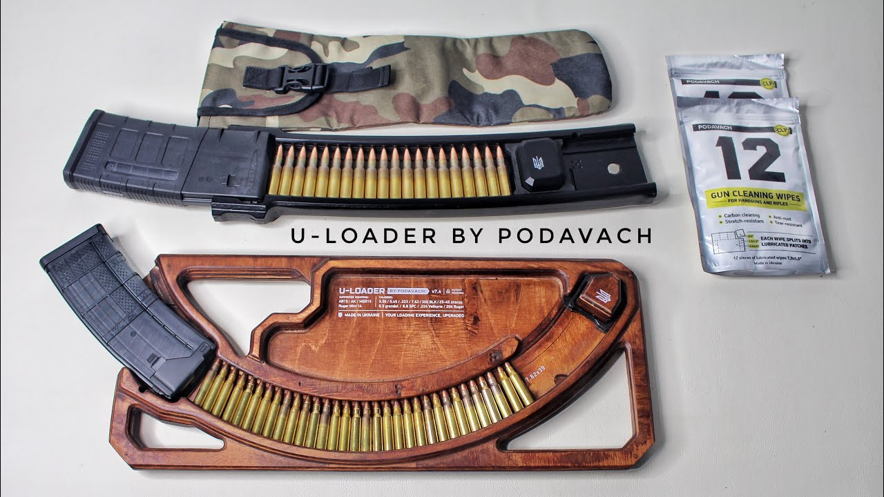 U-Loader for AR/AK + AR10 Review (Magazine Speed Loader)