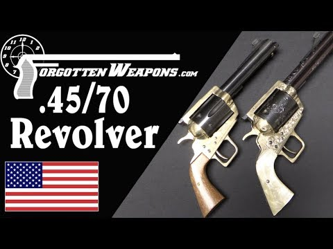 Ludicrously Huge .45-70 and .50-70 Revolvers