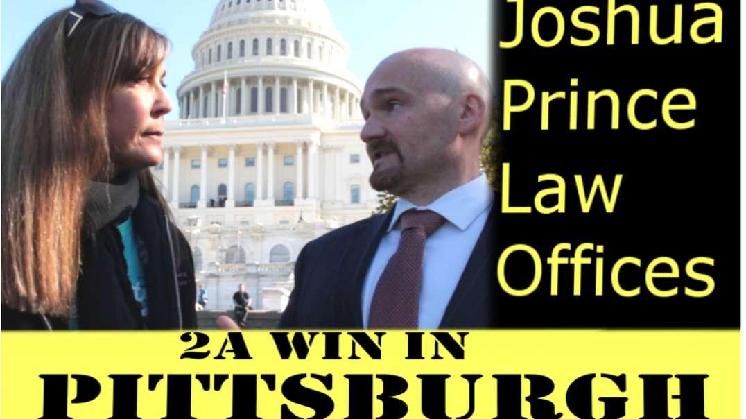 Breaking Pittsburgh's Gun Ban - With Joshua Prince #2A