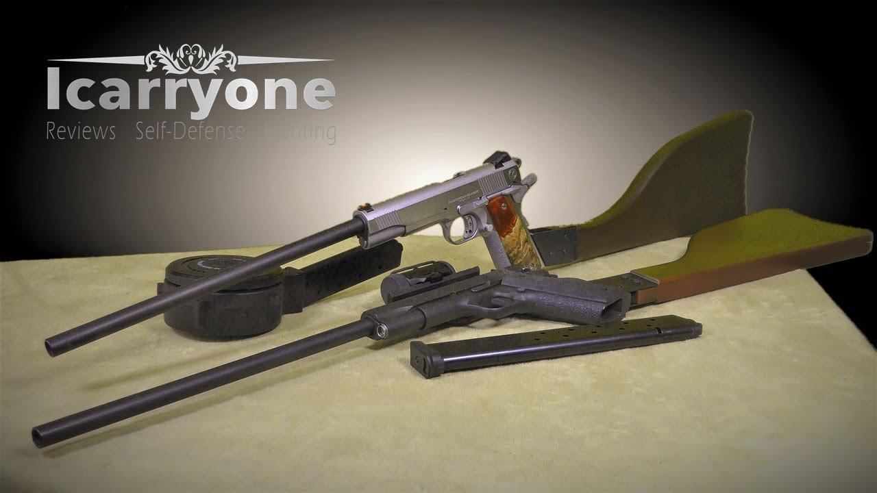 Sarco 1911 Carbine Conversion Kit