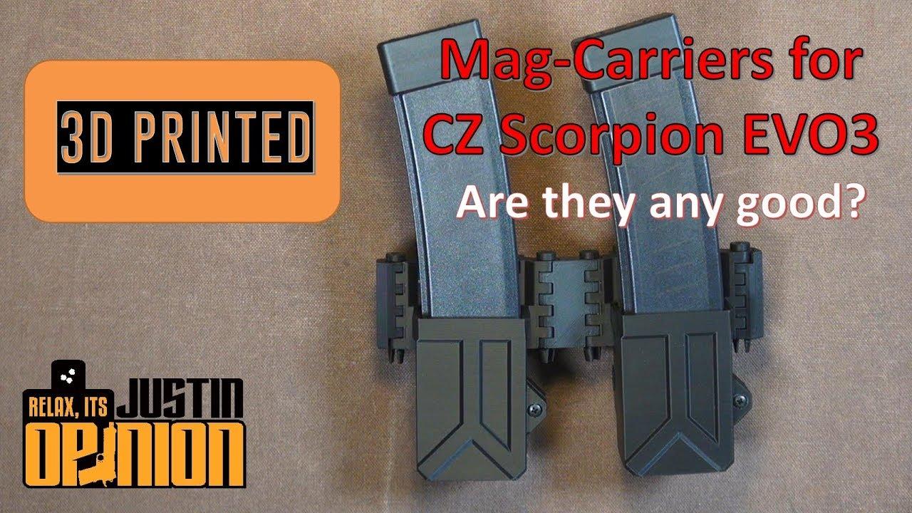 MCE Mag Pouches for CZ Scorpion EVO3