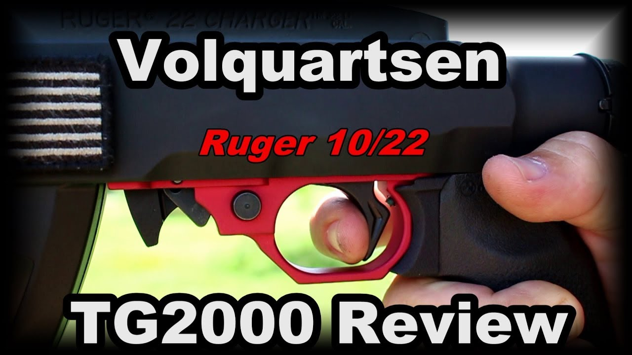 Volquartsen TG2000 Review Ruger 1022