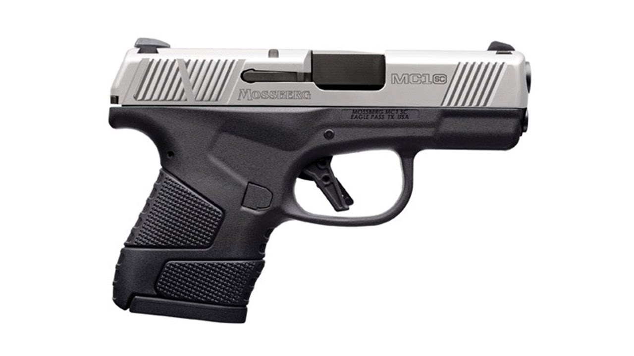 First Look and Range Time with the New Mossberg MC1SC Stainless #795