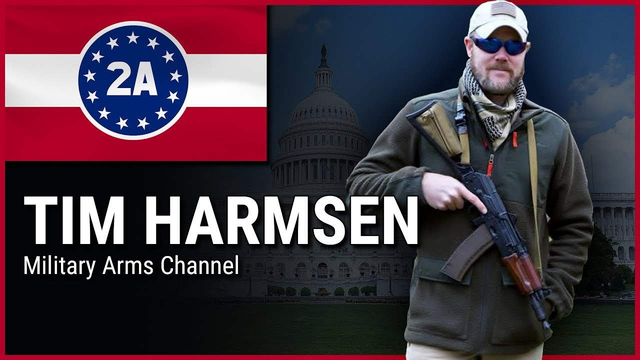 Tim Harmsen ( Military Arms Channel ) - 2A Rally For Your Rights