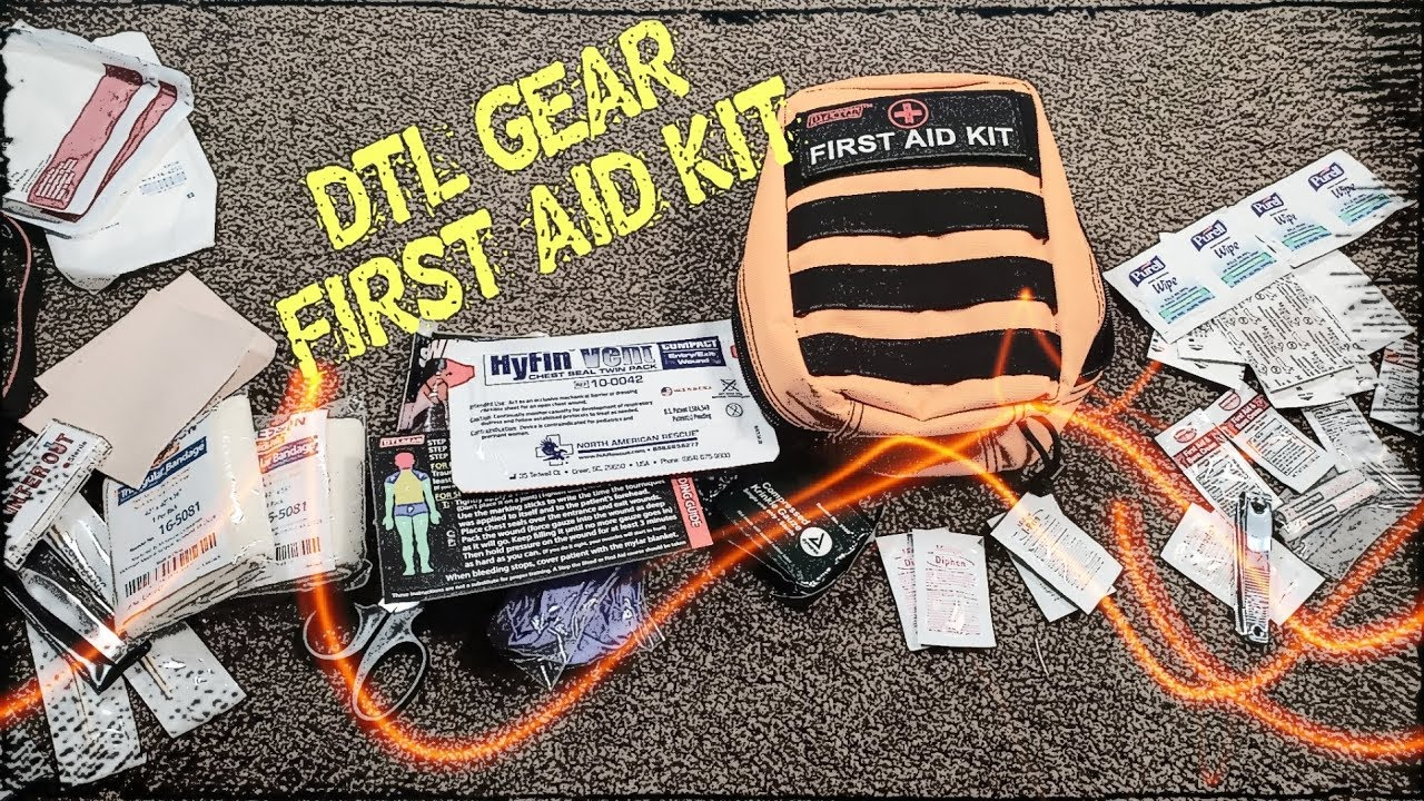 DTL GEAR: FIRST AID KIT