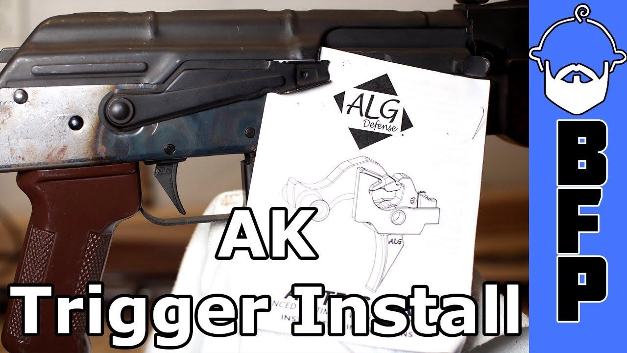 AK Trigger Install- ALG AKT-EL