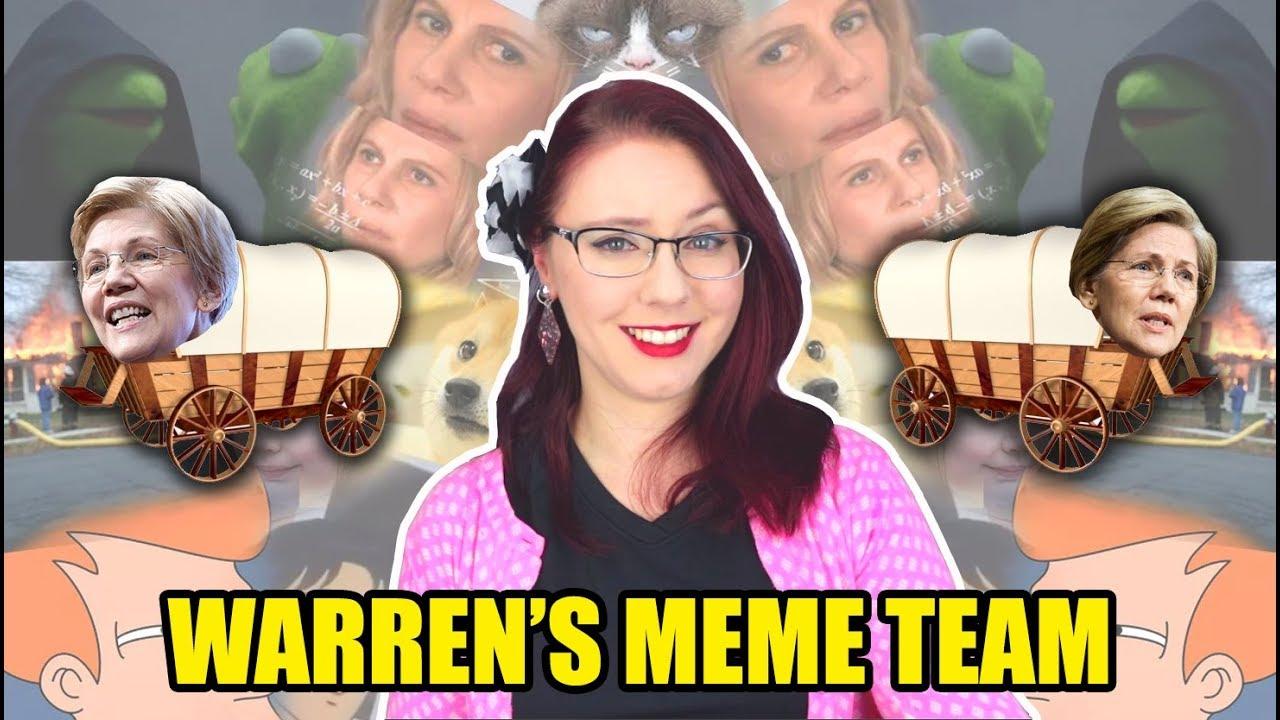 Cringe: Elizabeth Warren's Meme Team is an Epic Fail