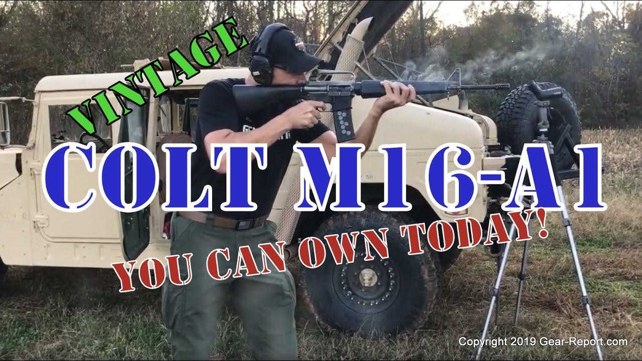 Vintage Colt M16-A1 / AR15-A1 Frankengun You Can Buy Today