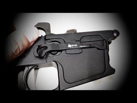 Replacing the Plastic Magazine Release on a 45ACP AR15 w/ Odin Works Extended Release