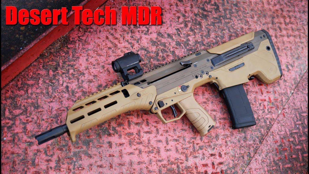 Desert Tech MDR 1000 Round Revew