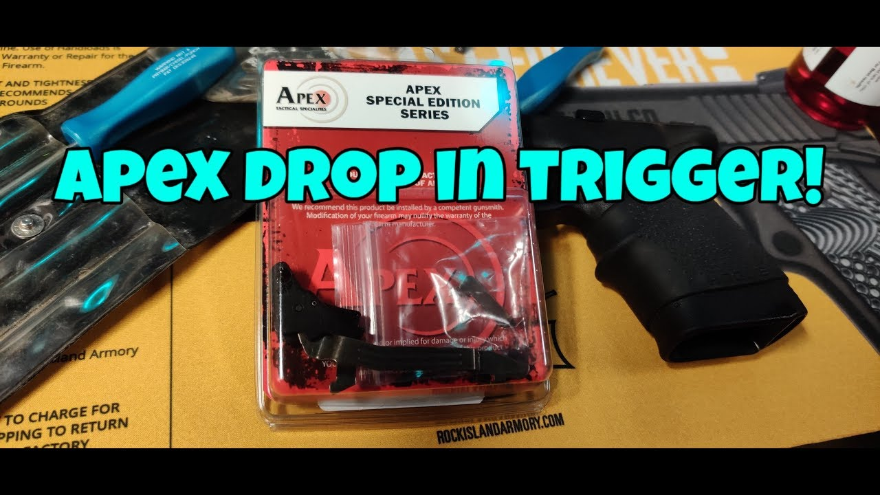 Apex Tactical Specialties Drop In Trigger Glock 43x