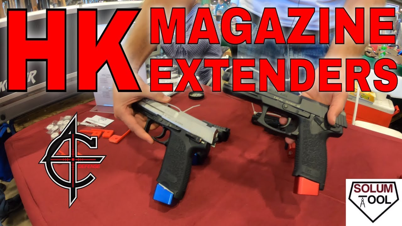 Solum Tool HK Magazine Extenders