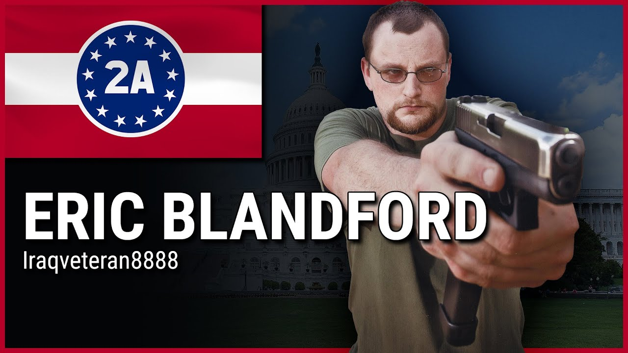 Eric Blandford ( IraqVeteran8888 ) - 2A Rally For Your Rights