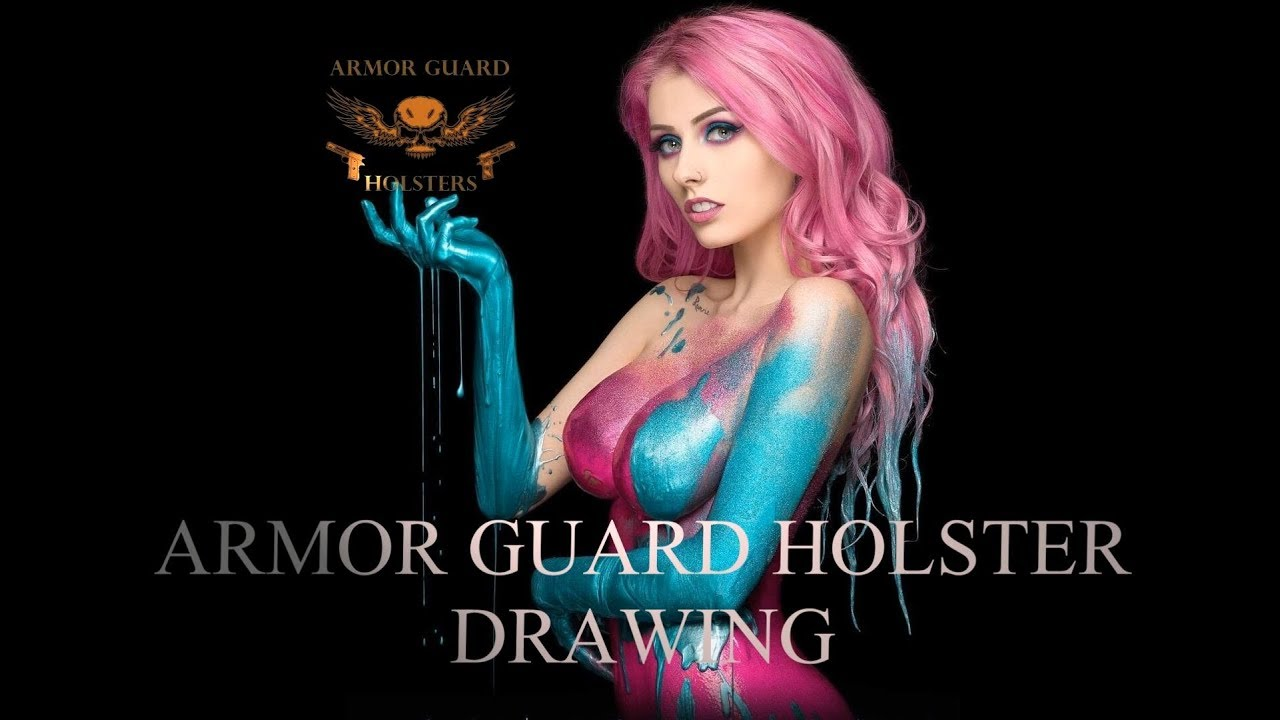 ARMOR GUARD HOLSTER DRAWING