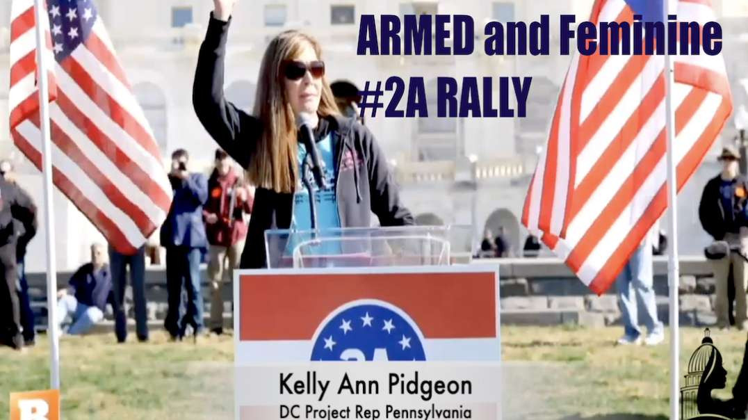 ARMED and Feminine - 2A Rally Nov2 US Capitol