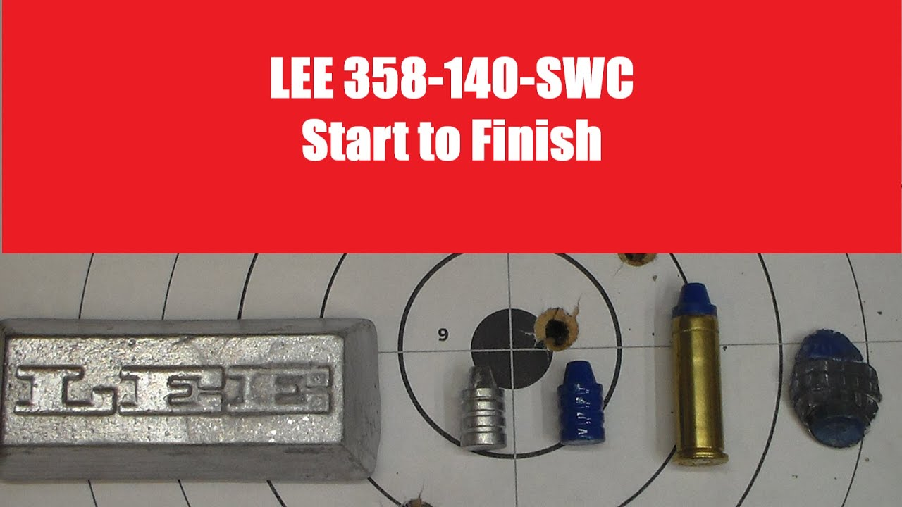 Lee 358-140-SWC Start to Finish