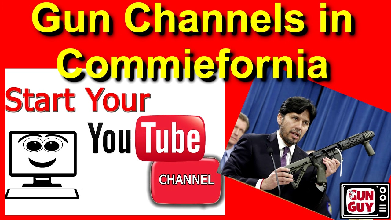 Why so few gun channels in Commiefornia? - Episode 61