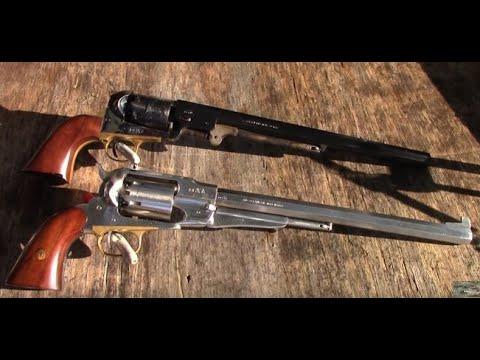 Shooting The Pietta 1858 .44 Stainless Steel 12