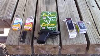 Beretta 21A Bobcat ammo test