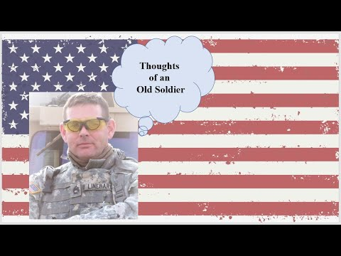 POETRY, PROSE AND PATRIOTISM WITH THE OLD SOLDIER