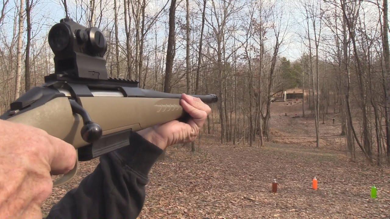 Ruger American  450 Bushmaster  Range 2