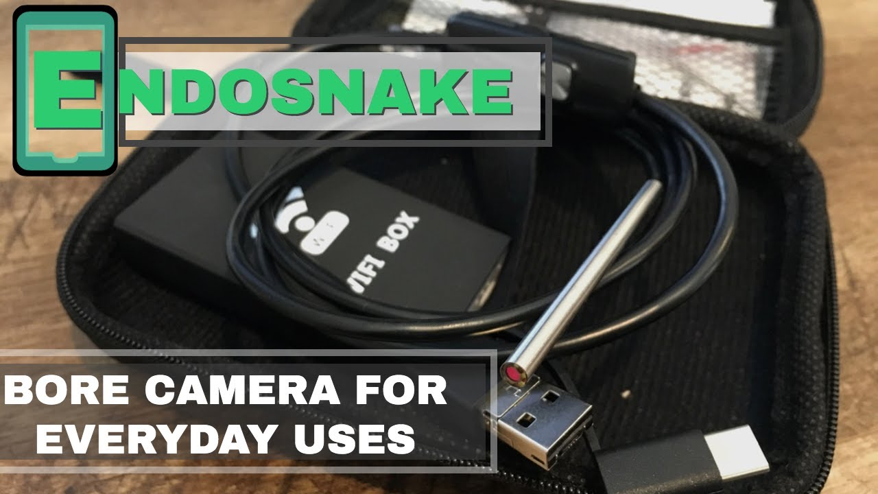 EndoSnake a bore camera with everyday uses!