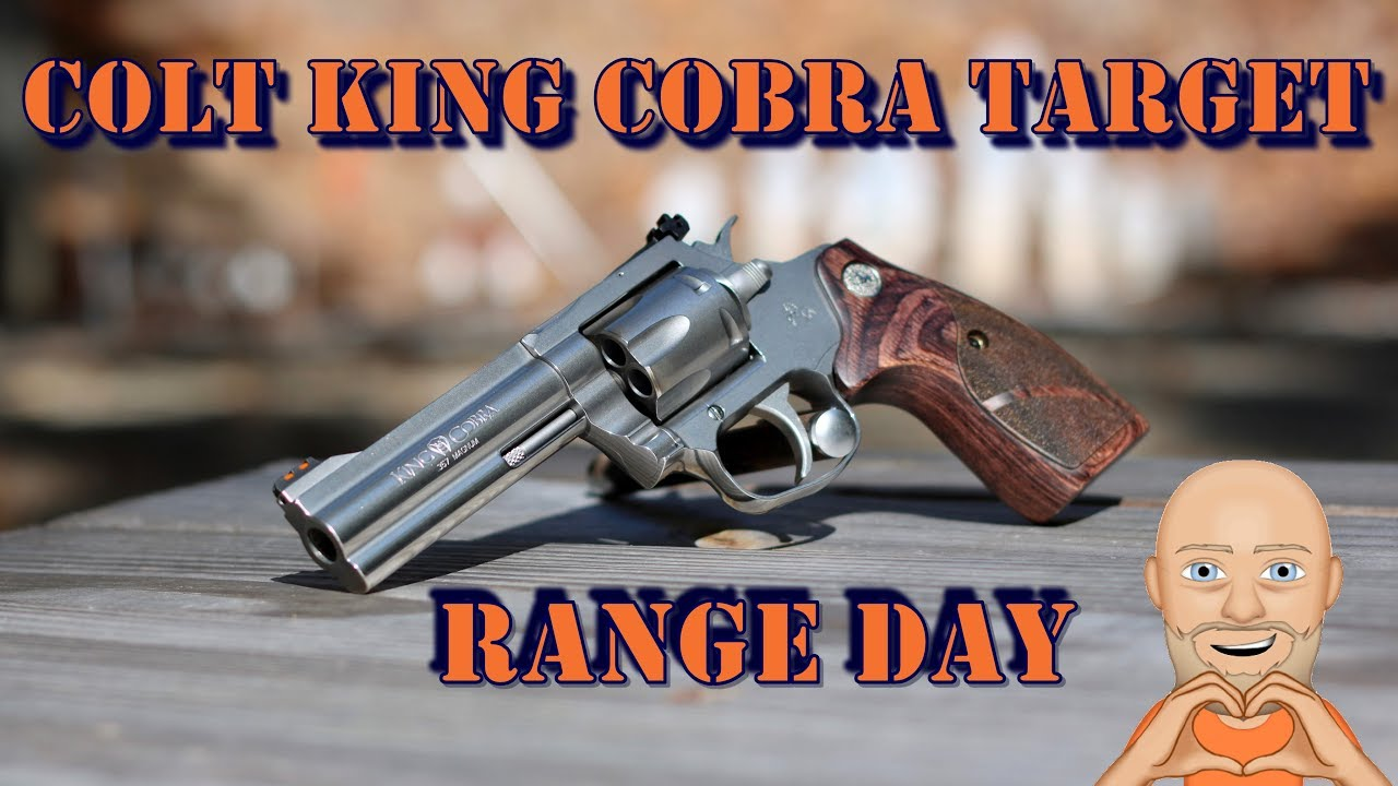 Colt King Cobra Target Range Day