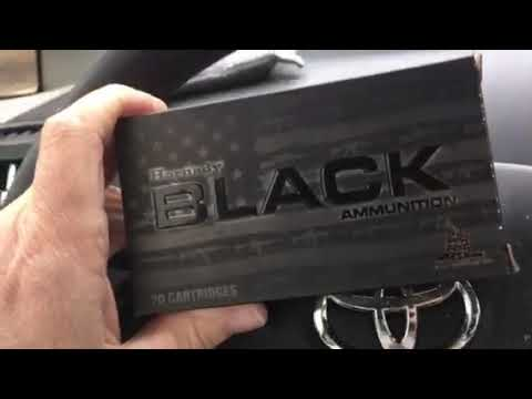 Hornady 140 black box 6.5 creedmoor