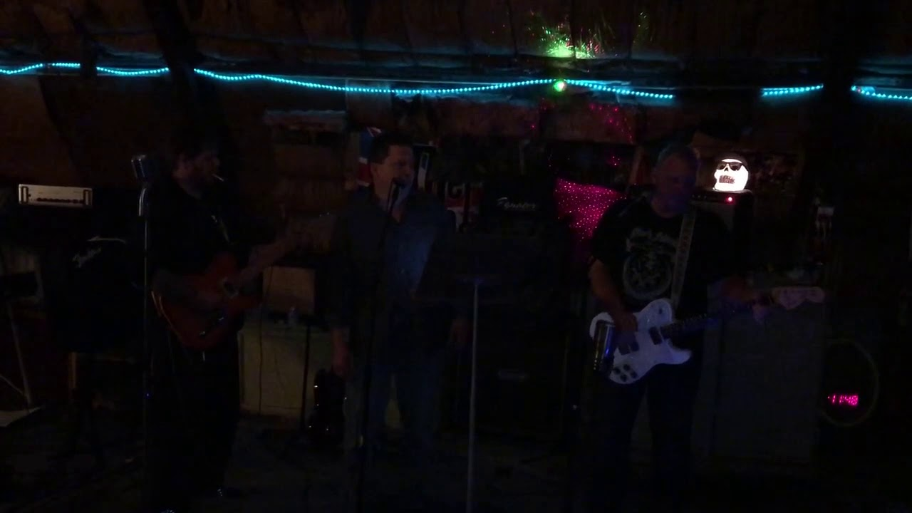 Our 2nd attempt at Chris Isaak  wicked game. Me on drums again