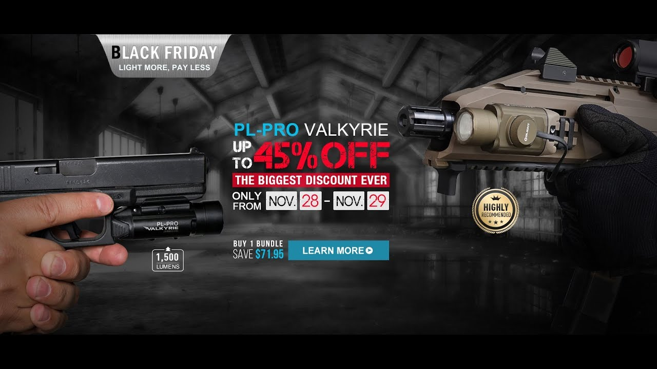 OLIGHT BLACK FRIDAY SALE!!!