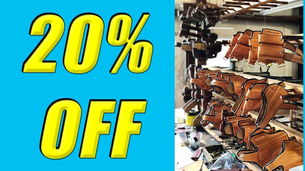 Andrews Custom Leather 20% Off Sale