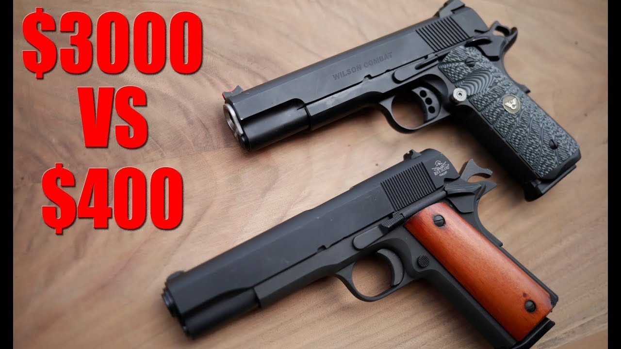 The Cheapest 1911 vs The Most Expensive 1911