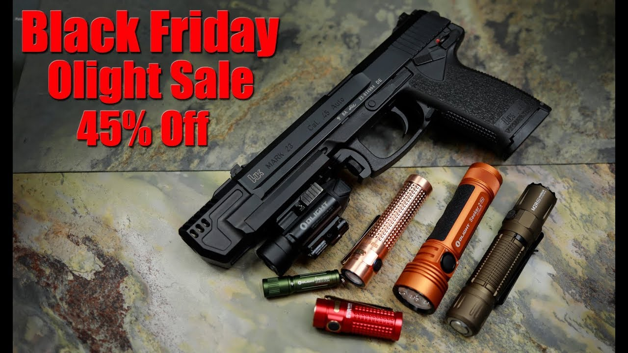 Olight Black Friday Sale: The Best Weapon Light Is Now $85!