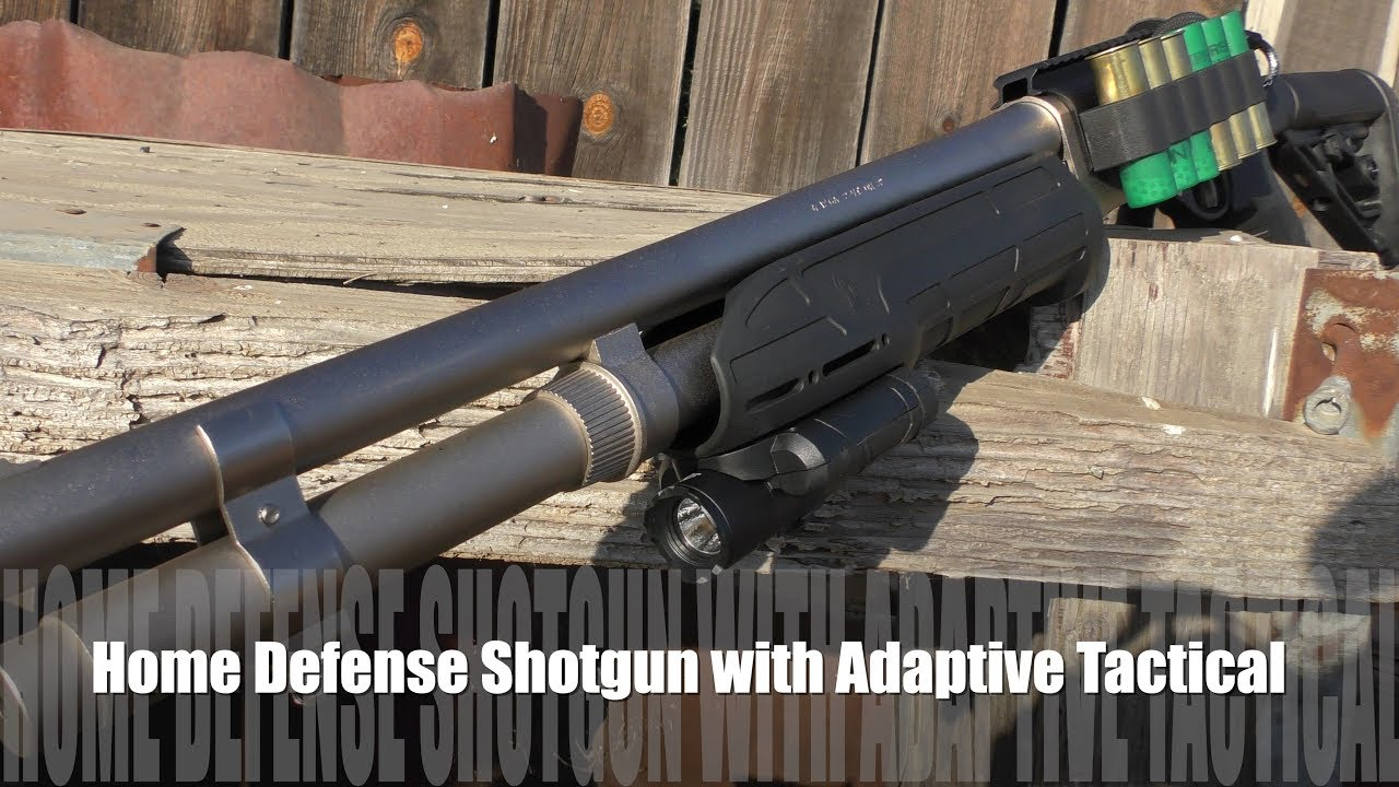Home Defense Shotgun with Adaptive Tactical - We Review!