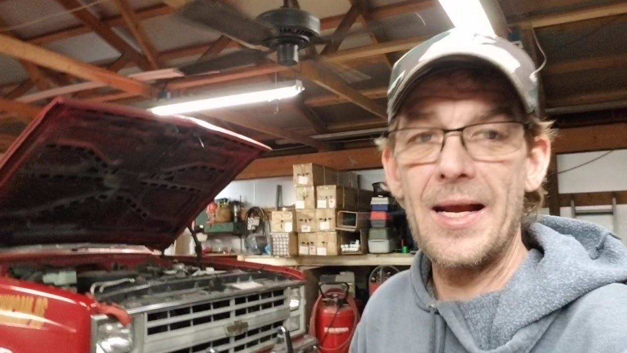 BIG RED k10 truck update and info on the LS SWAP for next year . Need more horse power