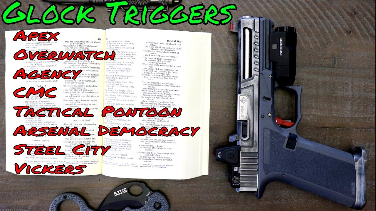 Top 3 Glock Triggers | Apex, Overwatch, Steel City, CMC, Vickers, Arsenal