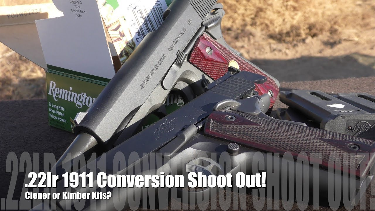 .22LR 1911 Conversion Kits - Train Cheap!