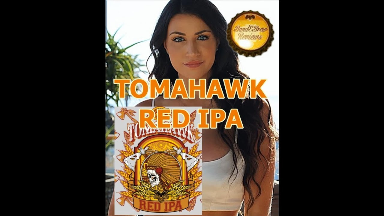 TOMAHAWK RED IPA from ORMOND BREWING Co