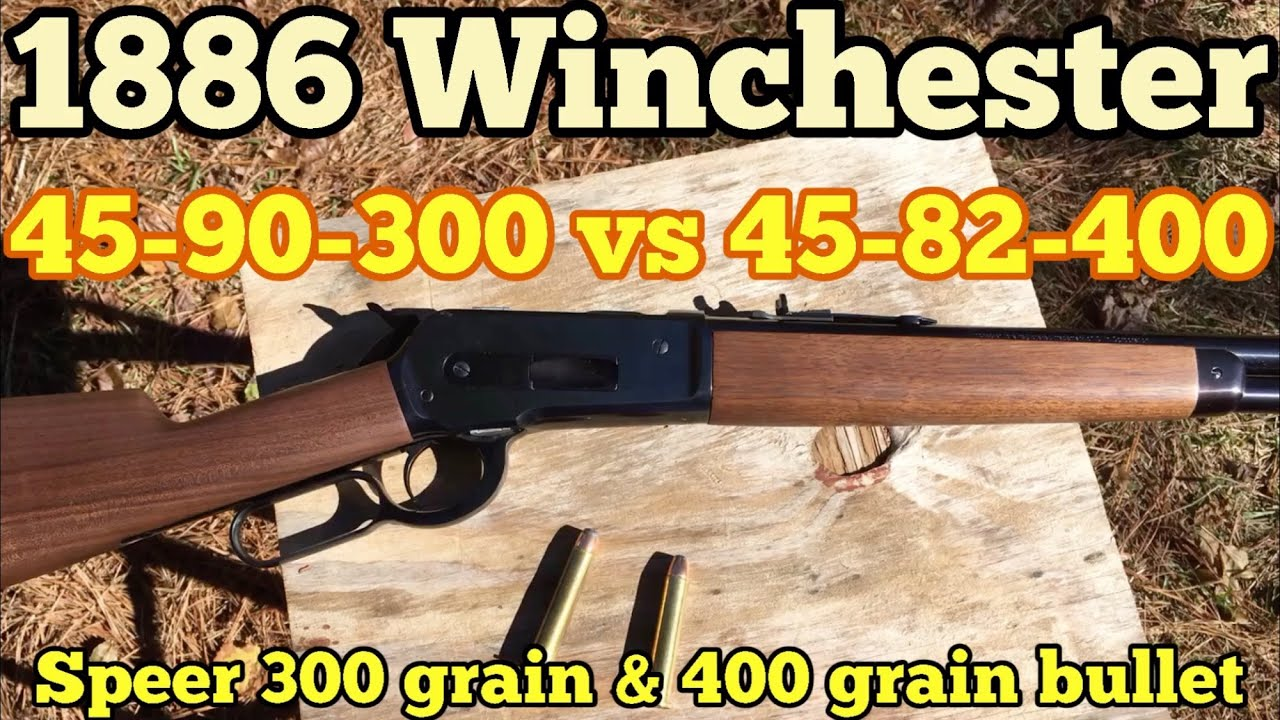 45-90 WCF using the Speer 400 and 300 grain bullets