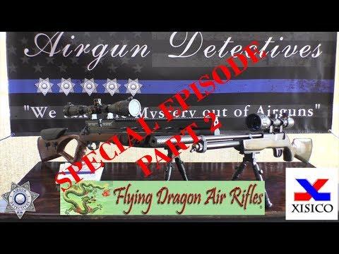 Xisico 702 PCP Rifle & XS60C Custom PCP Rifle