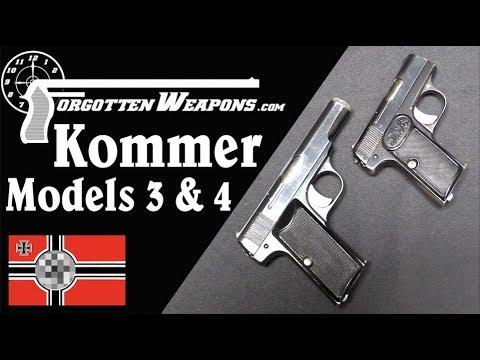 Kommer Models 3 and 4: German Browning Copies