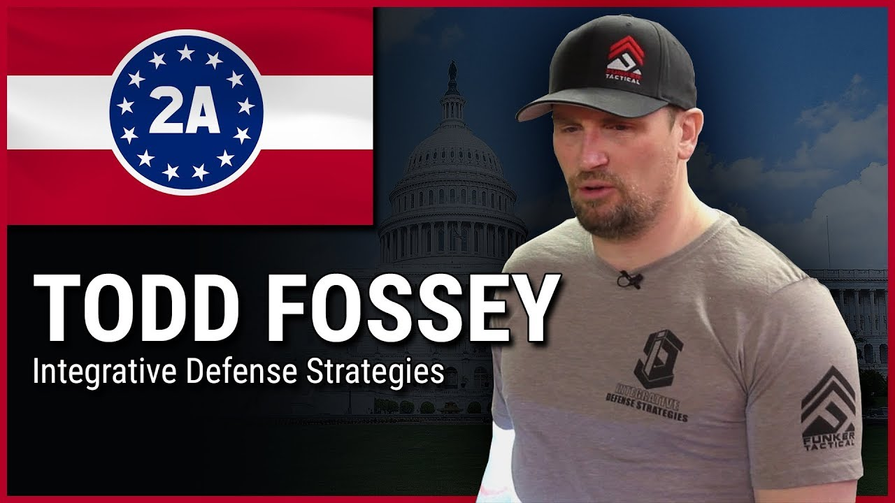 Todd Fossey ( Integrative Defense Strategies ) - 2A Rally For Your Rights