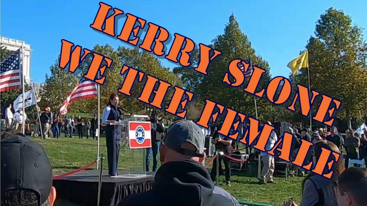 2A Rally Washington DC Kerry Slone Speech