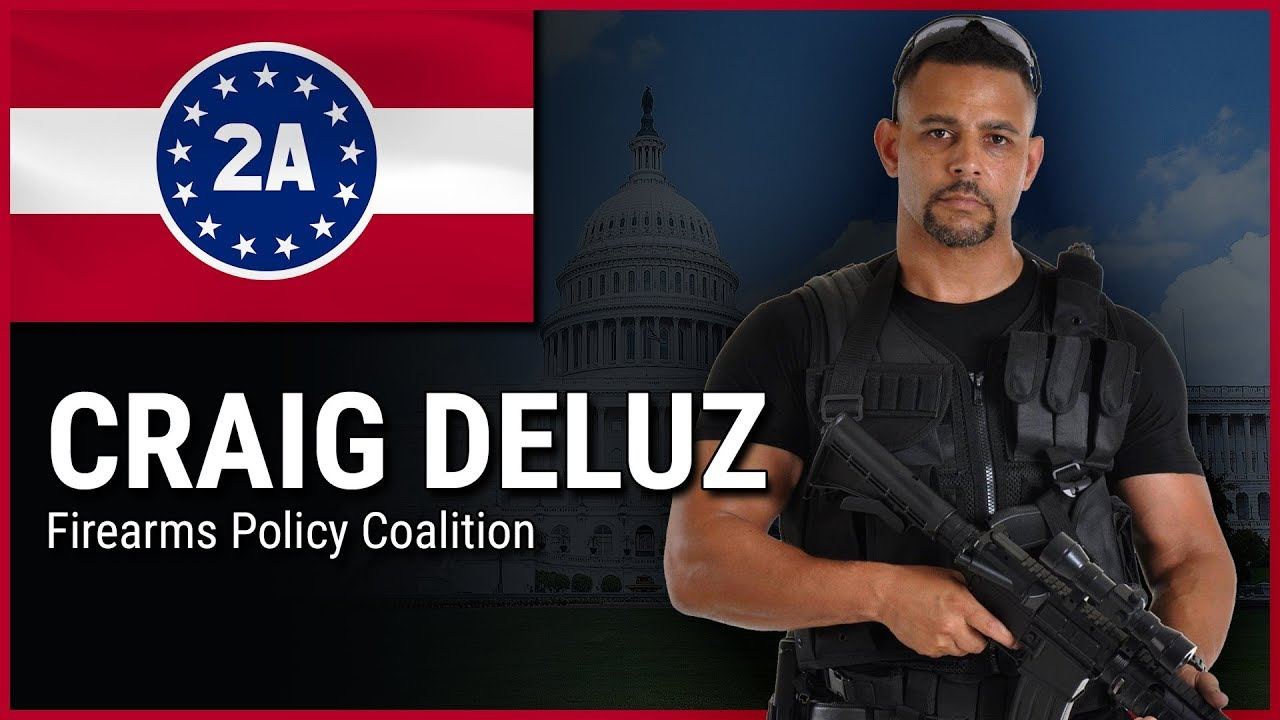 Craig Deluz ( Firearms Policy Coalition ) - 2A Rally For Your Rights