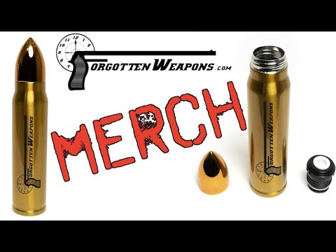 Forgotten Weapons Gifts - Cartridge Thermos! (and free shipping)